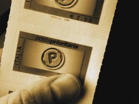 手紙といえば切手かなあと。これはイタリアで買った切手。