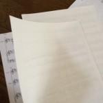 しっかり楽譜の製本をしよう…あと歌手として