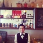"""【Cafe】マスターはモレスキン使い。胸にはモンブラン。しかも象好き。""""cafe de elephant"""""""