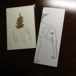 象とノートブック