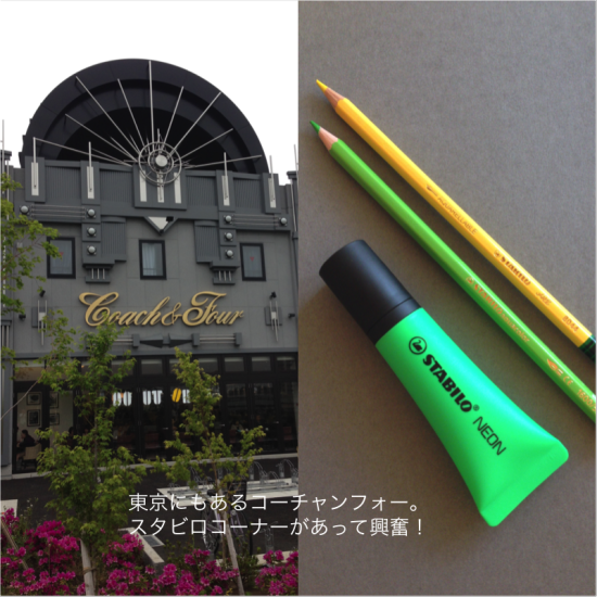 大型文房具店、コーチャンフォー若葉台店で買ったスタビログッズ。スタビロファンとしてはスタビロコーナーが大きいのは嬉しいです。  フードイラスト描いていると、黄色とか黄緑が減りやすいですね。