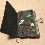 ジッパーケースを毛糸で作ってみる。Part3「三歩進んで二歩下がる」