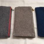 ジッパーケースを毛糸で作ってみる。Part5「レギュラー披露」