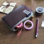ジッパーケースを毛糸で作ってみる。Part6「工程と内側」