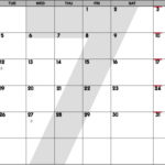 July 2016 Calendar