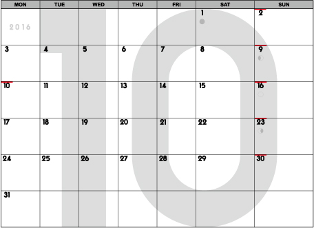 calendar2016_10