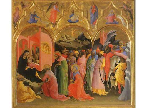 『三博士の礼拝』ピエトロ ディ ジョヴァンニ