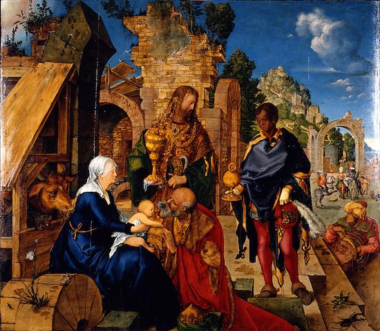アルブレヒト デューラー『東方三博士の礼拝』1504年