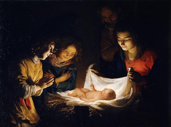 『幼子イエスの礼拝』ヘラルト ファン ホントホルスト