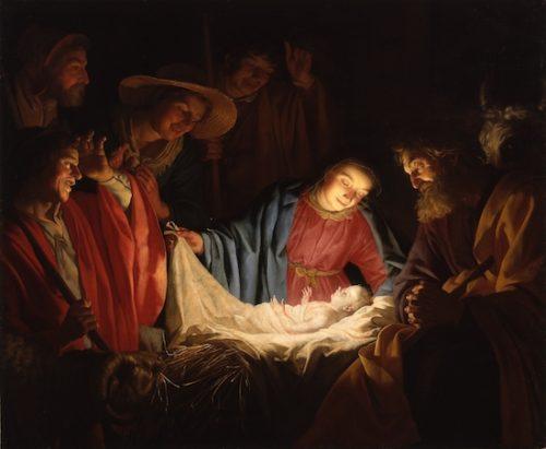 『羊飼いの礼拝』ヘラルト ファン ホントホルスト
