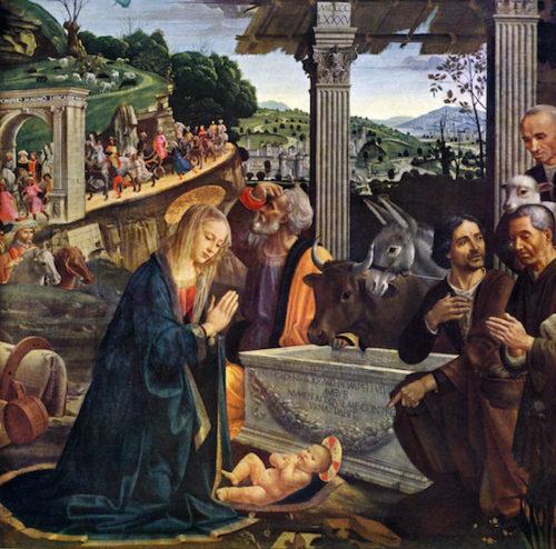 ギルランダイオ『キリスト降誕』1485年