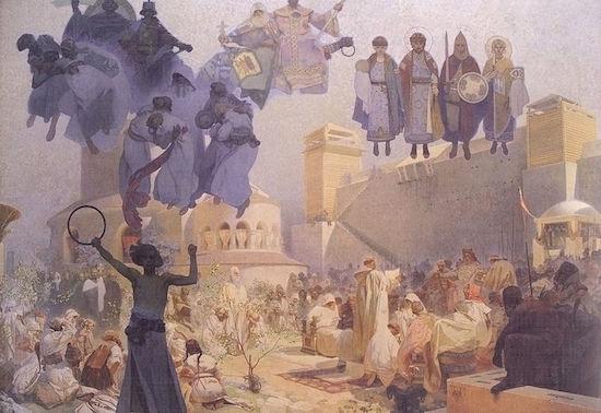 スラヴ式典礼の導入