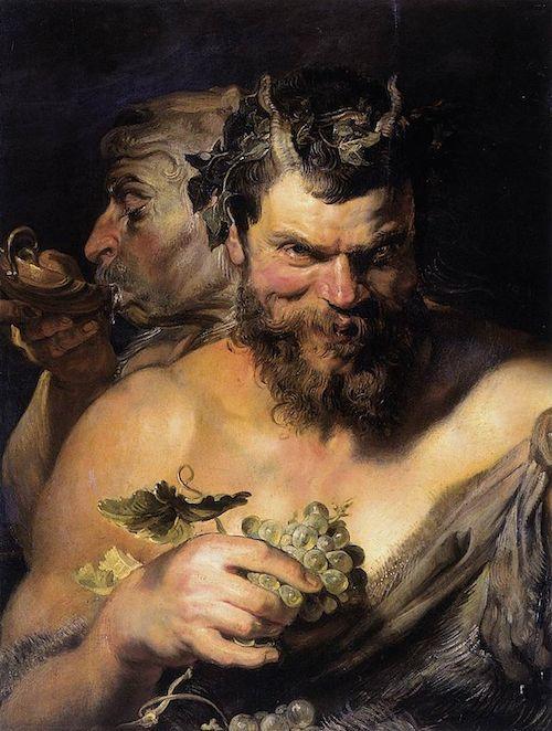 ルーベンスのサテュロス。