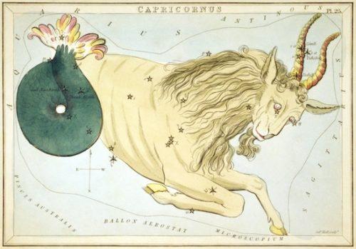 星図の山羊座