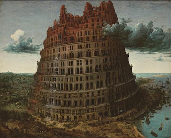 バベルの塔(ブリューゲル父)