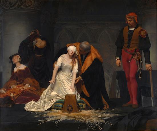 レディジェーングレイの処刑