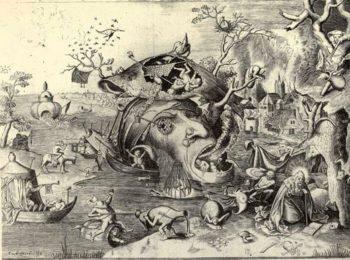 ブリューゲル父『聖アントニウスの誘惑』