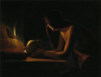 ラ・トゥール『書物のあるマグダラのマリア』