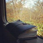 【ノートブックがない旅なんてvol.18】時折トラベラーズノートのある鉄道風景
