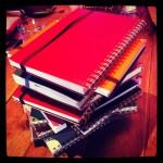カキモリタワー(手作りノートブックを愛でる)
