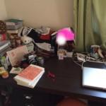 机上の個人的世界