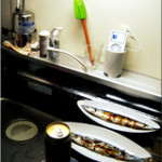 Simple kitchen and life