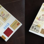 2013年ほぼ日手帳の表紙をカスタマイズ