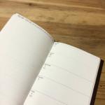 2014年スケジュール帳ができました